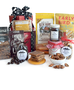 NYC Power Breakfast Gourmet Gift Basket