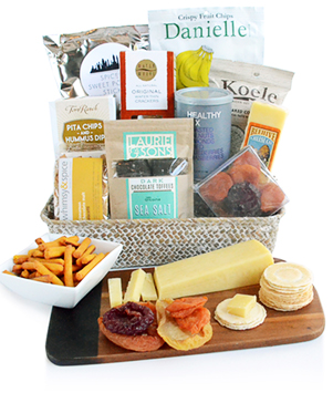 Sweets And Savories Apres-Ski Gourmet Gift Basket